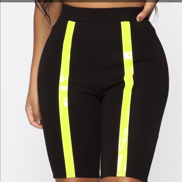Fashion Nova Pants - NWT- Fashion Nova Biker Shorts